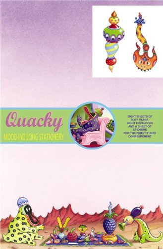 Dark Horse Deluxe Stationery Exotique: Jim Woodring's Quacky (1593070357) by Woodring, Jim