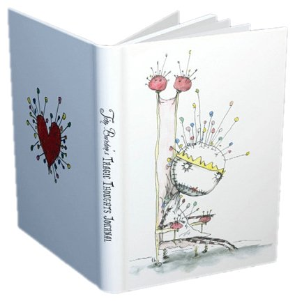 9781593070717: Tim Burton's Tragic Thoughts Light-Up Journal