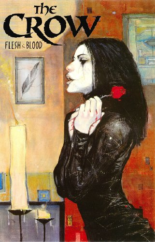9781593071257: The Crow: Flesh & Blood: Flesh and Blood