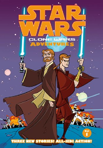 9781593072438: Clone Wars Adventures, Vol. 1 (Star Wars)