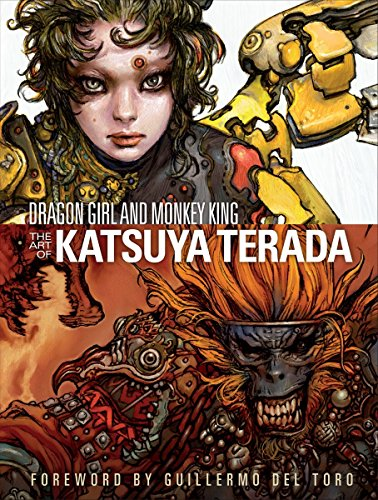 Dragon Girl and Monkey King: The Art of Katsuya Terada (Hardcover): Katsuya Terada