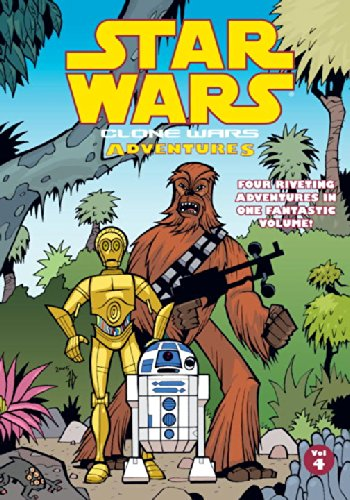 Clone Wars Adventures. Vol. 4 (Star Wars: Clone Wars Adventures)