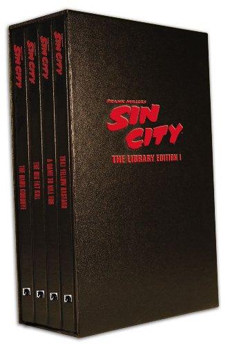 Sin City: The Frank Miller Library, Set I (Volumes 1-4) (v. 1): Miller, Frank