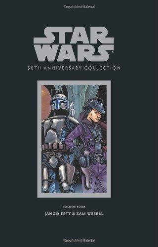 9781593078003: Star Wars 30th Anniversary Collection 4: Jango Fett & Zam Wesell
