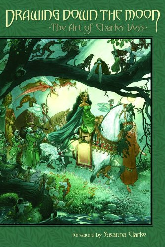9781593078133: Drawing Down the Moon: The Art of Charles Vess