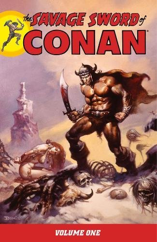 9781593078386: The Savage Sword of Conan, Vol. 1 (v. 1)