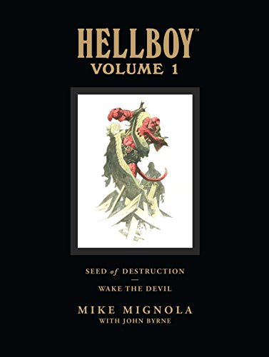 Hellboy Library Edition Volume 1: Seed of Destruction and Wake the Devil: Seed of Destruction and...