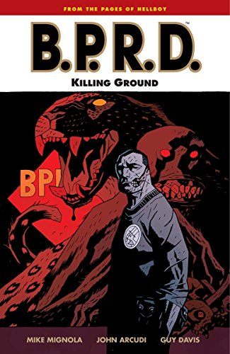 B.P.R.D. Killing Ground by Mignola, Mike ( Author ) ON May-06-2008, Paperback
