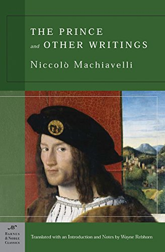 9781593080600: The Prince and Other Writings (Barnes & Noble Classics)