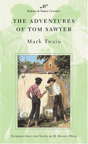 2 book lot: The Adventures of Tom Sawyer AND The Autobiography of Mark Twain (Perennial Classics)