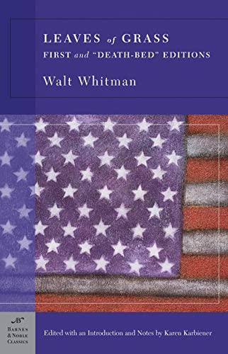 Leaves of Grass (Barnes & Noble Classics: Whitman, Walt