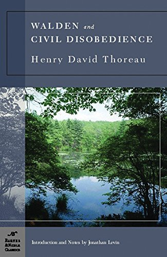 9781593082086: Walden and Civil Disobedience (Barnes & Noble classics)