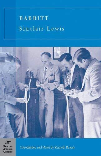9781593082673: Babbitt (Barnes & Noble Classics Series)