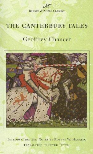 Beispielbild für The Canterbury Tales (Barnes & Noble Classics) zum Verkauf von Bayside Books