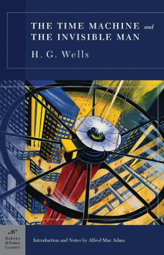9781593083250: The Time Machine and the Invisible Man (B&N Classics Hardcover)