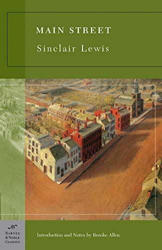 9781593083861: Main Street (Barnes & Noble Classics Series)