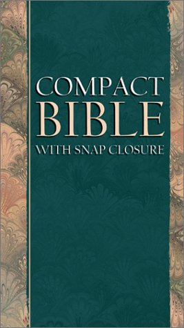 KJV Compact Bible: With Snap Closure: Barbour Publishing, Incorporated
