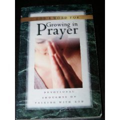 God's Word for Growing in Prayer: Devotional: Murray, Andrew