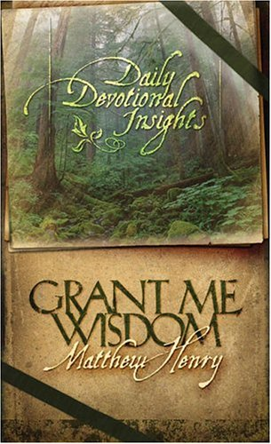 9781593103743: Grant Me Wisdom