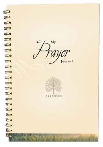 My Prayer Journal (Key Notes) (1593106475) by Caughey, Ellen