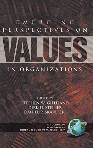 Emerging Perspectives on Value in Organizations (Hardback): F0f