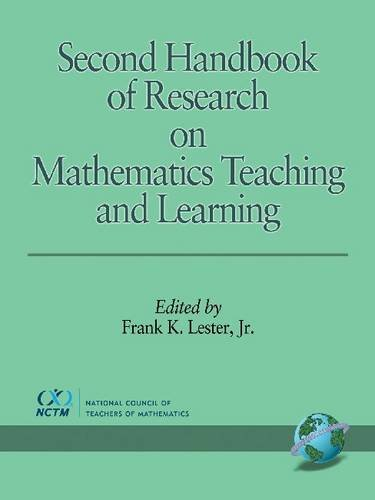 9781593111779: Second Handbook of Research on Mathematics Teaching and Learning