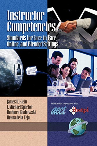 9781593112363: Instructor Competencies: Standards for Face-to-Face, Online and Blended Settings