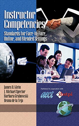 9781593112370: Instructor Competencies: Standards for Face-to-Face, Online, and Blended Settings