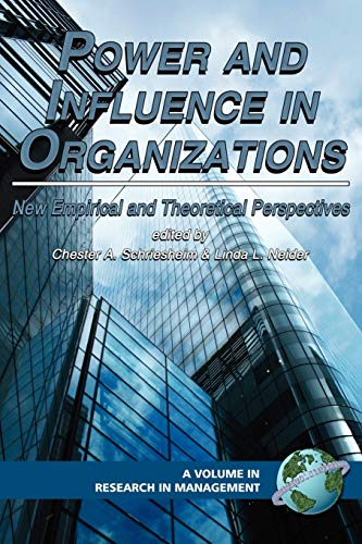 9781593114695: Power and Influence in Organizations: New Empirical and Theoretical Perspectives (PB) (Research in Management)