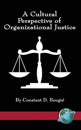 9781593115951: A Cultural Perspective of Organizational Justice (Hc)