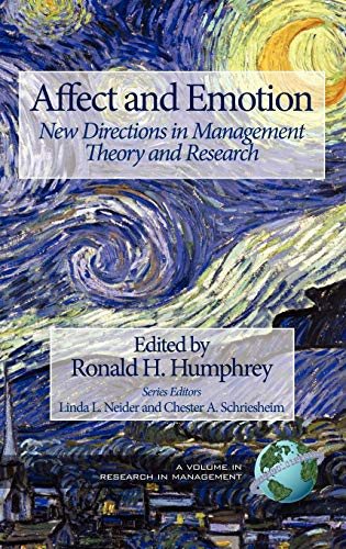 Affect and Emotion: New Directions in Management Theory and Research (Hardback)
