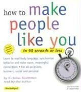 How to Make People Like You in: Boothman, Nicholas