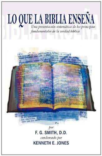 9781593170448: Lo Que la Biblia Ensena (Spanish Edition)