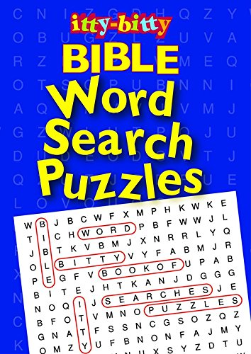 9781593171506: IttyBitty Activity Book Bible Word Search Puzzles