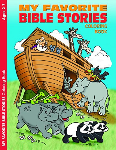My Favorite Bible Stories Reproducible Coloring Book (Ages 2-7)