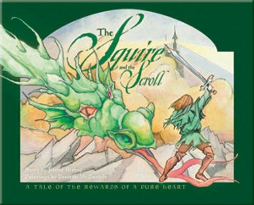 9781593173821: The Squire and the Scroll: A Tale of the Rewards of a Pure Heart [With CD (Audio)]