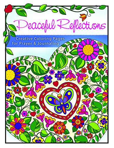 9781593178413: Peaceful Reflections: Creative Coloring Pages for Prayer & Reflection