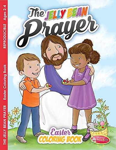 9781593178468: Jelly Bean Prayer, Coloring Book (ages 2-4) pack of 6
