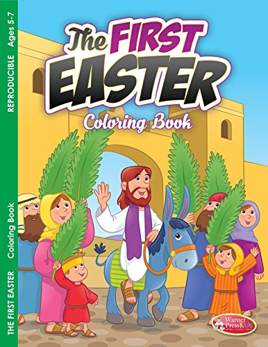 9781593178482: The First Easter, Activity Book (ages 5-7) pack of 6