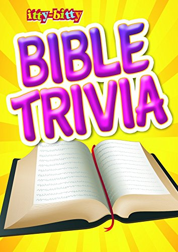 9781593178529: Bible Trivia, Itty-Bitty Bible Activity book, pack of 6