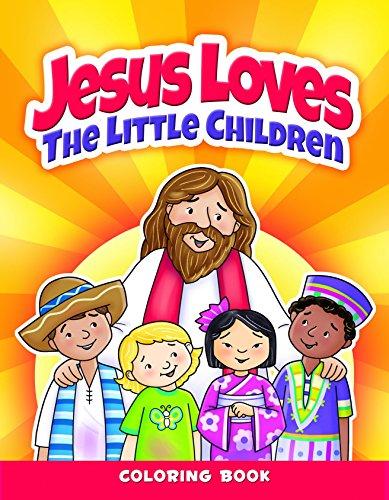 Ca Bks Jesus Lvs Chldrn 6pk (Paperback): Warner Press