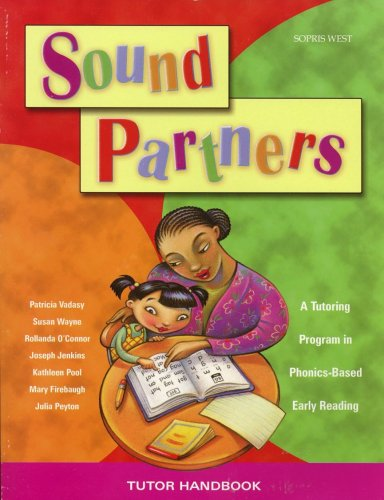 Sound Partners Tutor Handbook Grades K-2: Patricia Vadasy