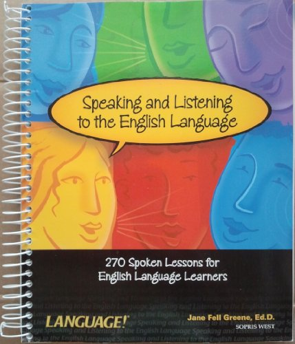 9781593182618: Speaking and Listening to the English Language
