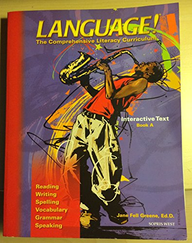 9781593182649: Language! The Comprehensive Literacy Curriculum Interactive Text Book A