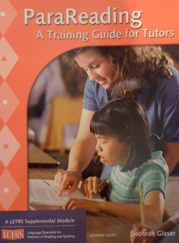 9781593183998: Parareading: A Training Guide for Tutors