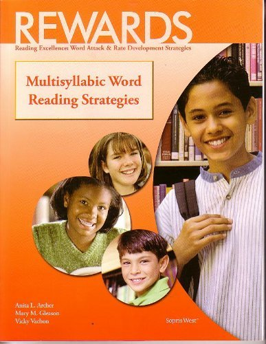 9781593185527: Rewards Reading Excellence: Word Attack & Rate Development Strategies Multisyllabic Words Reading Strategies