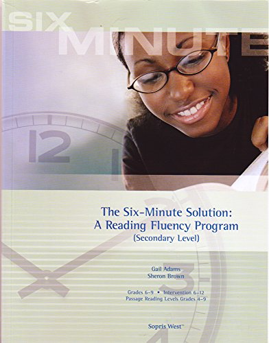 Six-Minute Solution Secondary Level