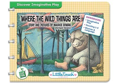9781593191511: Where the Wild Things Are, LeapFrog, Interactive Book & Cartridge (Little Touch LeapPad Library, Infant & Toddler) by Maurice Sendak (2004-01-01)