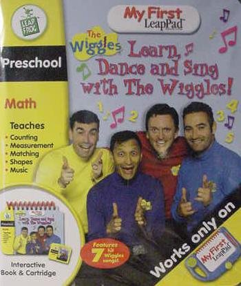 9781593191535: My First LeapPad Learn, Dance and Sing with The Wiggles Interactive Book & Cartridge, LeapFrog (My First LeapPad)