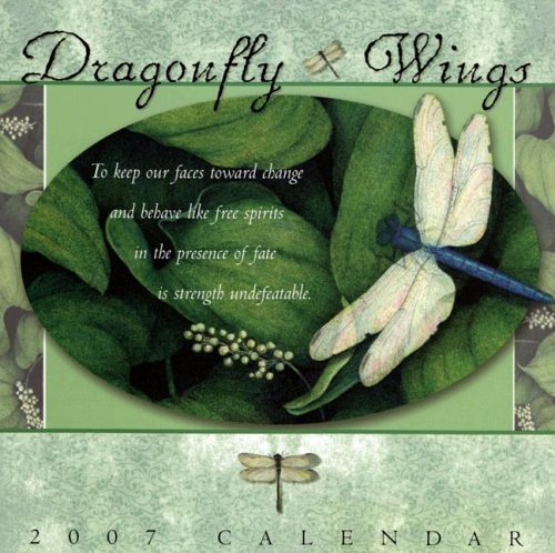 9781593243111: Dragonfly Wings 2007 Calendar